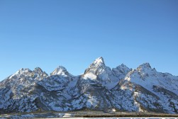 Grand Teton National park in winter