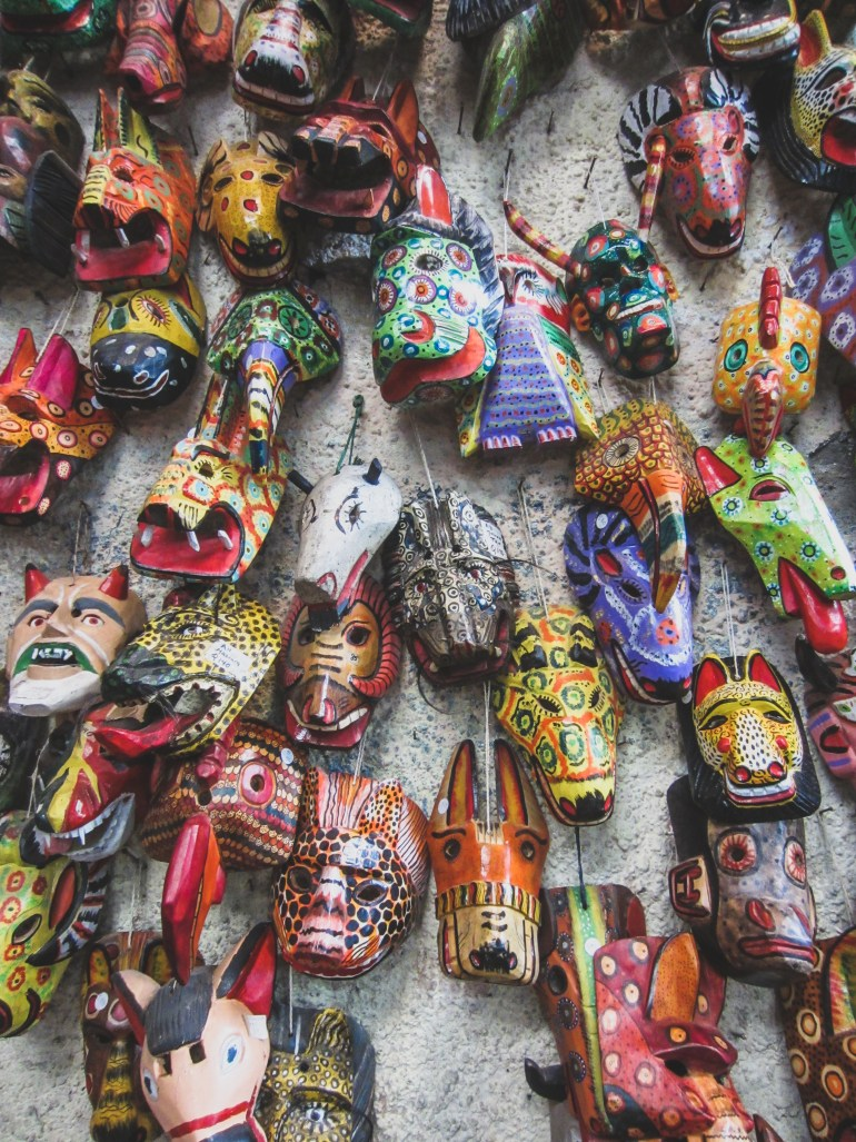 guatemala masks