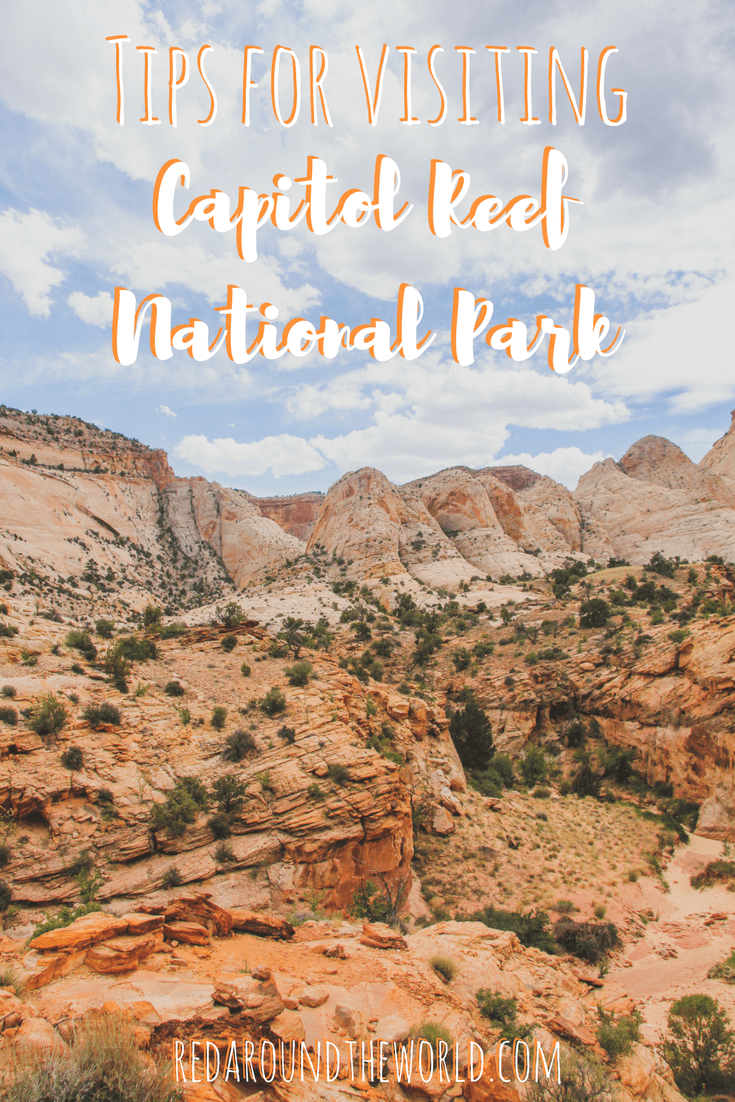 Tips for visiting Capitol Reef National Park