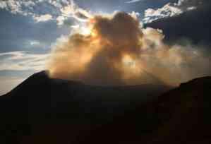Volcan Telica Nicaragua
