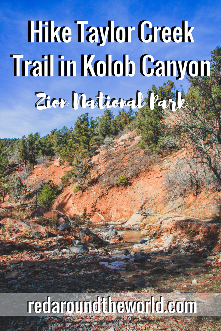 Hike Canyon Overlook Trail Kolob Canyons Zion National Park