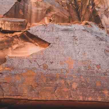 Potash road Moab petroglyphs