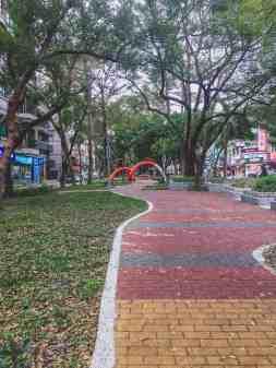 street in taipei taiwan