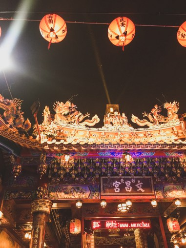 Dihua street market chinese new year taipei taiwan