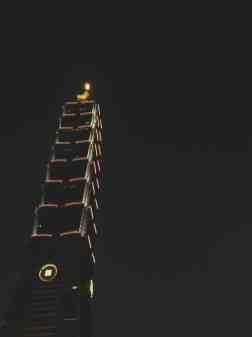 taipei 101 at night taiwan