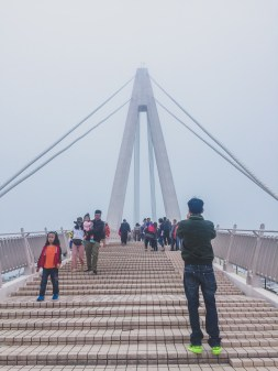 Tamsui lovers bridge taiwan