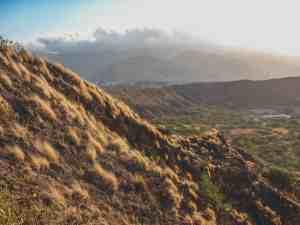 hike diamond head crater honolulu hawaii