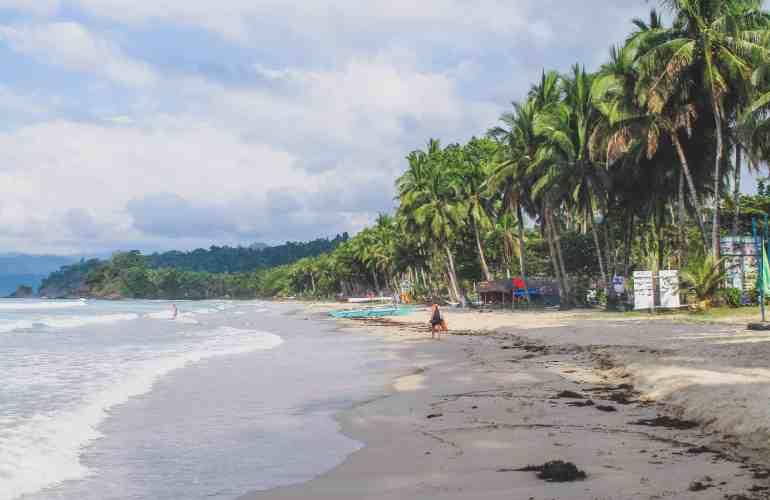 sabang beach palawan philippines