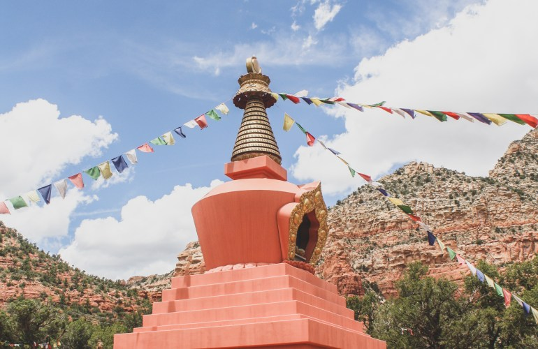 amitabha stupa sedona arizona peace park