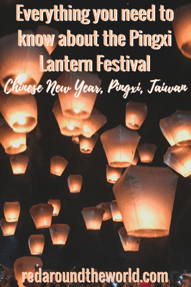 The Pingxi Lantern Festival is one of the coolest ways to celebrate Chinese New Year in Taiwan. It's the perfect day trip from Taipei and it's super easy to get to. #taiwan #pingxi #taipei #asia #eastasia #travel #solotravel #solofemaletravel #backpacking #backpackingtaiwan #chinesenewyear #lanternfestival