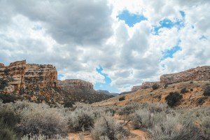 Devils Kitchen trail Colorado National Monument
