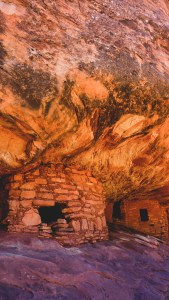 House on fire ruins mule canyon