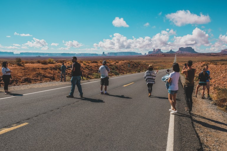 Forrest Gump Spot Monument Valley