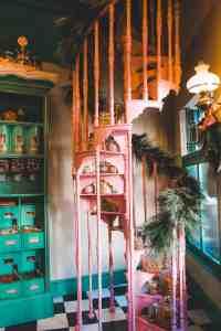 Zonkos joke shop Hogsmeade in winter wizarding world of harry potter universal orlando harry potter