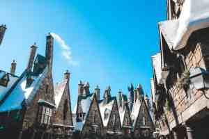 Hogsmeade in winter wizarding world of harry potter universal orlando harry potter
