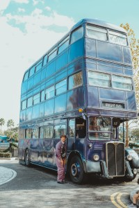 Knight bus diagon alley wizarding world of harry potter universal orlando harry potter