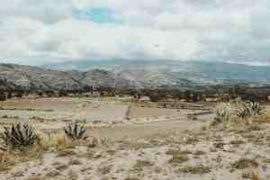 village near riobamba ecuador