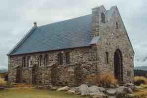 Lake tekapo Church of the Good Shepherd New Zealand