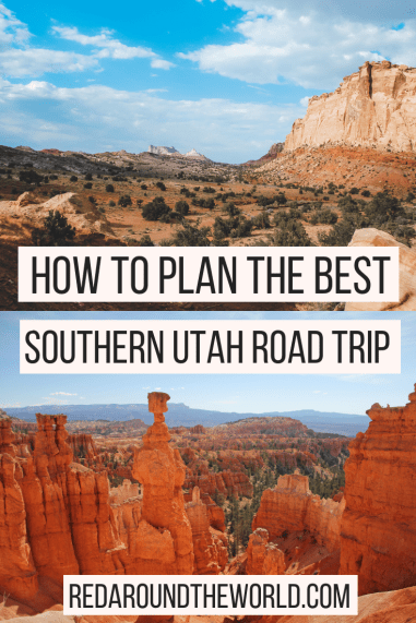 This is the ultimate guide to help you plan a southern Utah road trip. See the Utah national parks, state parks, and scenic drives. The perfect Utah road trip.