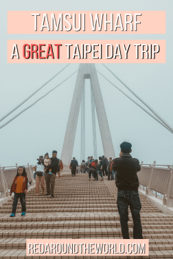 The Tamsui Fishermans Wharf is a great day trip from Taipei. Want to know what to do in Tamsui? Look no further! This is a great Taipei alternative.