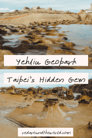 Yehliu Geopark is the perfect day trip from Taipei. It's fun to visit and easy to get to Yehliu by bus. It's the perfect way to spend an afternoon in Taipei. Yehliu Geopark is a great thing to do in Taiwan and is easy to get to from Taipei.