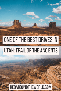 Trail of the Ancients in Utah and Colorado is a great road trip to experience ancient Puebloan culture. It takes you to Anasazi ruins around Southeast Utah. This is one of the best road trips in Utah and Colorado. See ruins in southern Utah, Mesa Verde National Park, and Monument Valley in one awesome US road trip.