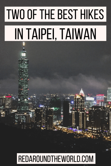Elephant Mountain and Fairy Footprint hike in Taipei are two of the best hikes in Taipei. They offer some of the best views of Taipei and are easy hikes in Taiwan. Do one of these hikes before visiting the night markets in Taipei.