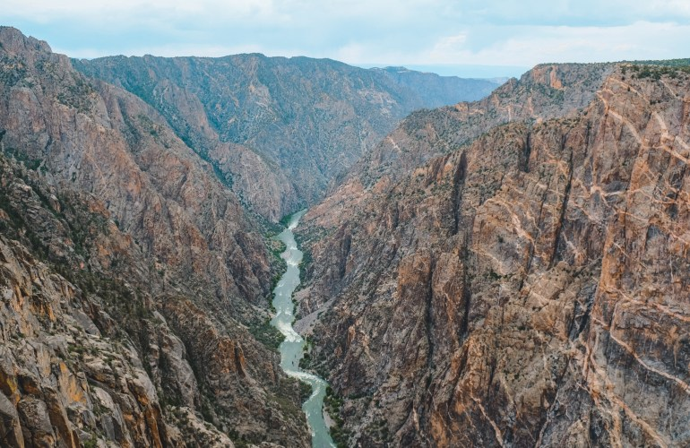 Black Canyon of the Gunnison – Red Around the World