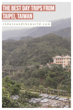 Planning a trip to Taiwan? Look no further! These are some of the best day trips from Taipei and awesome things to do in Taiwan. Taiwan travel   Taiwanese travel   Taipei things to do   Taiwan things to do   Taiwan   Taipei   Jiufen   Yanmingshen   Taipei travel   Taiwan vacation   Taipei vacation   Taipei things to do   Taipei day trips   Tamsui   Beitou hot springs   pingxi   Houtong cat village