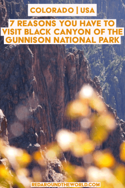 Black Canyon of the Gunnison National Park is worth it if you're doing a Colorado Road trip. It's an underrated national park for sure. Colorado road trip, colorado national parks, black canyon of the gunnison, black canyon of the gunnison things to do, national parks, national parks road trip, colorado travel, colorado things to do, colorado vacation, grand junction colorado, grand junction things to do #nationalpark #colorado #USA #roadtrip