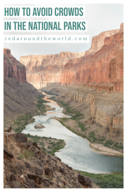 To have an awesome visit to a national park, it helps to avoid the crowds. This guide will help you avoid crowds in national parks and on hikes. national park road trip, how to avoid crowds in the national parks, less crowded national parks, usa road trip, us road trip, national park travel, national park vacation, national park trip, national park travel tips #roadtrip #nationalparks #usa