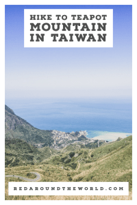 Hiking in Taiwan is a must-do. Taiwan's east coast is known for it, but you can easily hike from Taipei, too. Teapot Mountain in Taiwan is easy and rewarding. Taiwan things to do | Taiwan hiking | taiwan hikes | taiwan travel | taiwan vacation | Taipei travel | Taipei vacation | Taipei things to do | taipei hikes | taipei day trips | things to do in taipei | hiking in taiwan #taiwan #asia #taipei