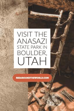 The Anasazi State Park Museum is a great stop on Scenic Byway 12, one of the best scenic drives in Utah. Learn about the Anasazi culture in the area. ruins in utah | Utah travel | Utah vacation | Utah hiking | Utah things to do | Utah road trip | Utah state parks | utah road trip | boulder Utah | best ruins in Utah | #usa #utah #roadtrip