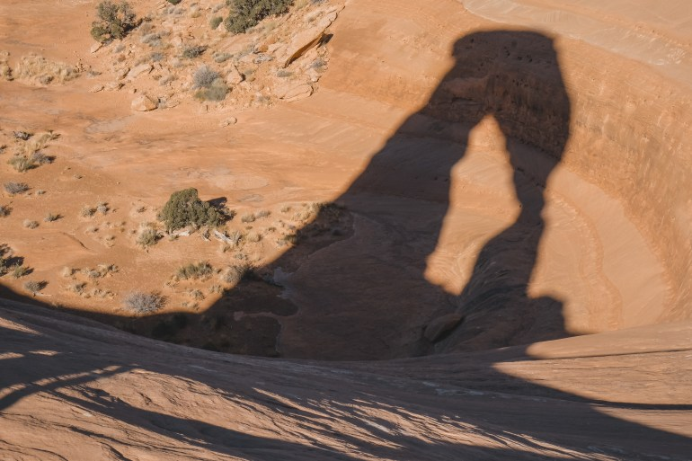 Delicate arch hike arches national park moab utah