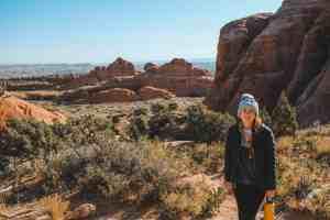 Devils garden trail arches national park utah