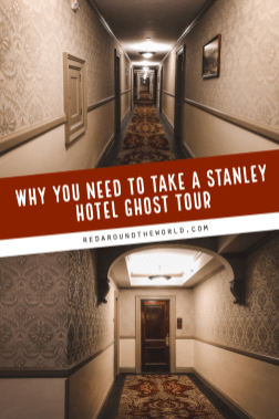 Make sure you do a Stanley Hotel Ghost Tour next time you're in Estes Park, Colorado. A Stanley hotel ghost tour is perfect for fans of The Shining. Colorado | Estes park | estes park things to do | stanley hotel | stanley hotel ghost tour | colorado vacation | colorado things to do | ghost tour in colorado | most haunted places in the USA | best ghost tours in the USA #colorado #haunted #usa #roadtrip