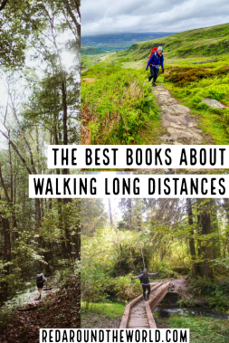 These are some of the best books about walking long distances across countries or continents, along rivers, and thru hiking trails. You'll feel the adventure. thru hiking books | PCT books | Appalachian trail books | books about long walks | books about long hikes | books about hiking | hiking books | outdoor adventure books | pacific crest trail | appalachian trail | continental divide trail