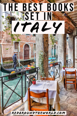 If you're looking for the best books about Italy, look no further. These are the best books set in Italy that will have you planning your next trip in no time. Read these Italy Travel books to feel like you're actually there. Italy books | books set in italy | books about italy | novels set in italy | books to read before going to italy | Italian books