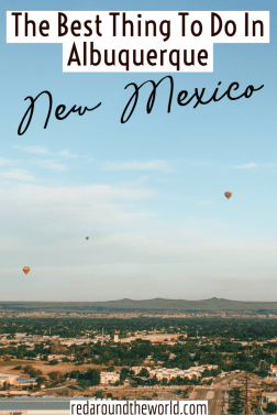 A hot air balloon ride in Albuquerque is a must-do on any Southwest USA road trip. It's one of the best things to do in Albuquerque, New Mexico. Albuquerque things to do | New Mexico vacation | New mexico things to do | new mexico road trip | southwest USA road trip | albiqierque hot air balloon