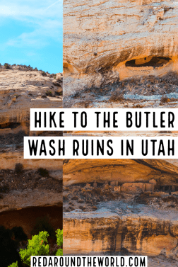 The Butler Wash Ruins are easily accessible cliff dwelling ruins in Southern Utah along highway 95. They make a great day trip from Blanding, Utah. Utah road trip | hiking in Utah | best things to do in Utah | Utah hikes | Utah road trip itinerary | ruins in utah | utah ruins | easy hikes in utah | utah travel | utah vacation | anasazi ruins