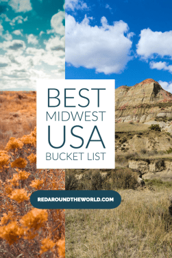 This is the best midwest USA bucket list for hikers. It's got the best hikes in the midwest including Michigan, Iowa, Illinois, North Dakota, and South Dakota. Midwest USA bucket list | best hikes in the midwest | North Dakota hikes | South Dakota hikes | Michigan hikes | Michigan bucket list
