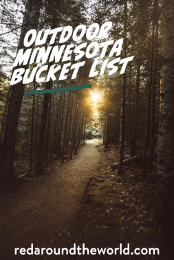 This is the best outdoor Minnesota bucket list. It includes the best scenic drives in Minnesota and the best state parks in Minnesota. Find some of the best things to do in Minnesota on this bucket list and use it to plan a Minnesota road trip.