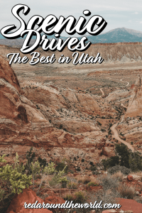 You can cross the state almost entirely on some of the best scenic drives in Utah. Utah scenic byways are some of the best drives in the country. Utah drives | Utah scenic road | utah scenic drives | utah road trip | utah national parks road trip | Utah things to do | Utah travel | Utah vacation | Utah national parks