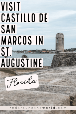 The fort Castillo de San Marcos in St. Augustine Florida is the oldest fort in the US and a must-see on a visit to St. Augustine. Florida vacation | Florida things to do | St. Augustine vacation | St. Augustine things to do | St. Augustine Florida | St. Augustine fort | St. Augustine Florida photography | St. Augustine Florida things to do | castillo de san marcos florida #Florida #USA #StAugustineFlorida