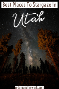 Stargazing in Utah is some of the best in the country, especially in the national parks and remote areas. This will help you with stargazing in Utah. stars in Utah   Utah stars   stargazing Utah   stargazing in Utah   Utah stargazing   Utah star gazing   Utah road trip   Utah national parks   dark sky parks