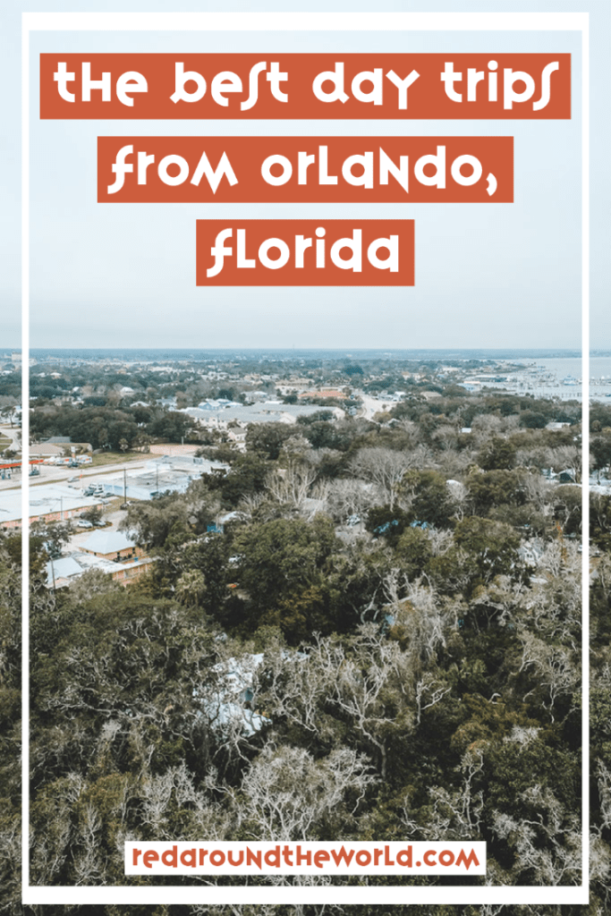 While there is a lot to see in Orlando, there is just as much to see outside of it. These are some of the best day trips from Orlando with kids, or without. Orlando things to do | Orlando day trips | orlando Florida | orlando vacation | orlando travel | Florida road trip | day trips from Orlando | St. Augustine Florida | Merritt Island Florida | Florida vacation | Florida travel