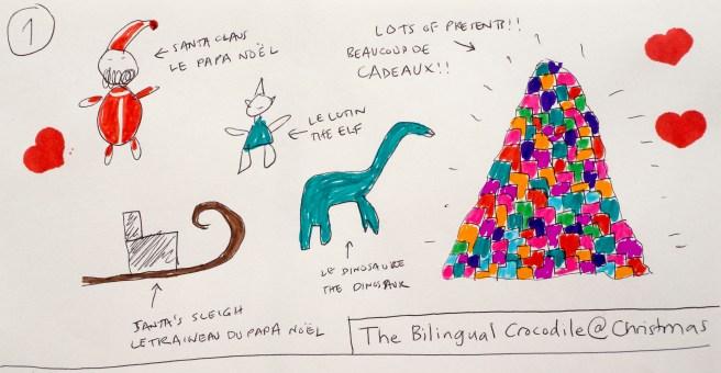 Le crocodile bilingue