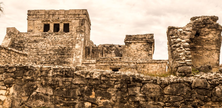 Ancient Mayan port city of Tulum, Yucatán Peninsula. Personal collection.