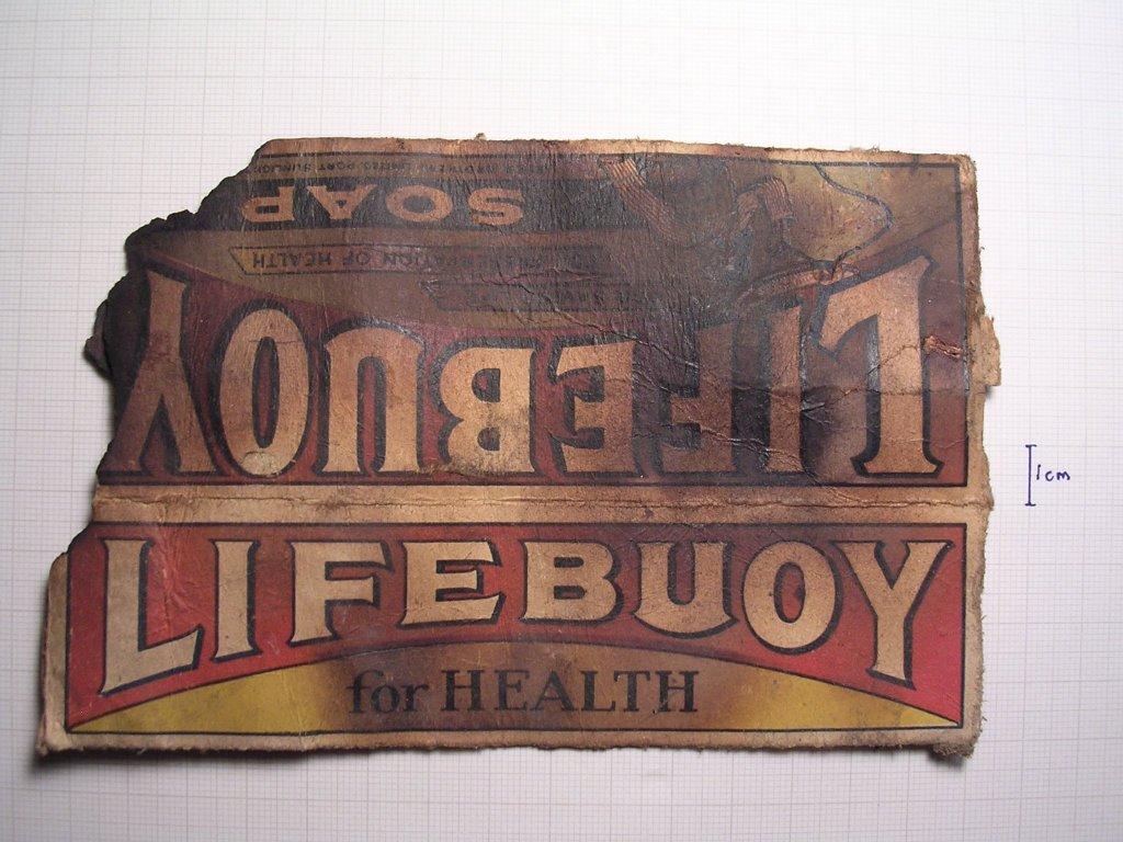 Lifebuoy soap for health