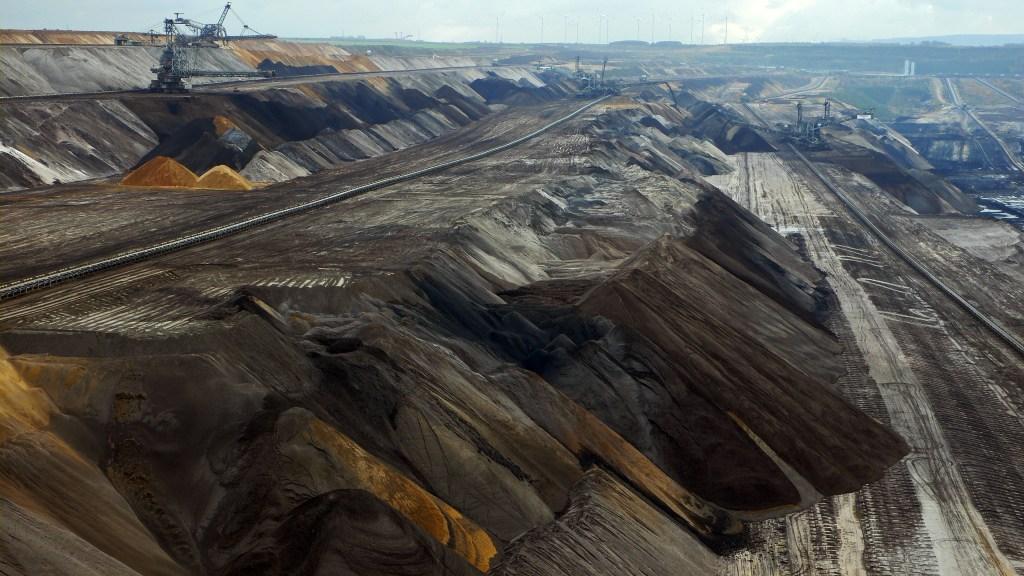 Opencast Mine / Tagebau - Garzweiler / NRW / Germany